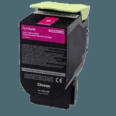 Lexmark 80C2SME magenta toner