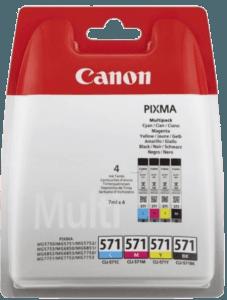 Canon CLI-571 4-färg färgpatron