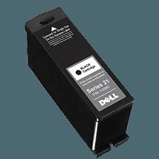 Dell Y498D svart bläckpatron