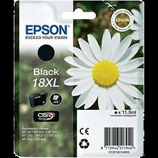 Epson 18XL svart bläckpatron