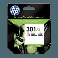 HP 301XL 3-färg färgpatron