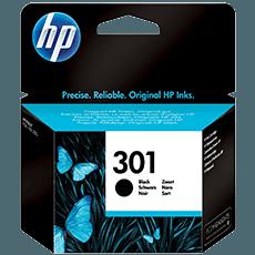 HP 301 Svart bläckpatron
