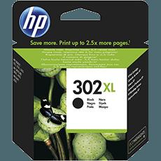HP 302XL svart bläckpatron