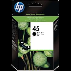 HP 45 svart bläckpatron