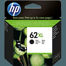 HP 62XL svart bläckpatron