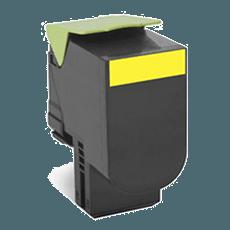 Lexmark 70C2HY0 gul toner